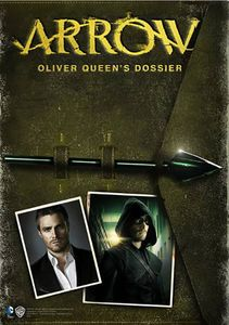 [Arrow: Oliver Queen's Dossier (Hardcover) (Product Image)]