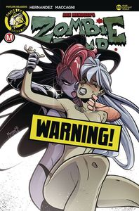 [Zombie Tramp: Ongoing #65 (Cover F Amalgama Cat Fight Risque Variant) (Product Image)]