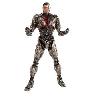 [DC: Justice League Movie: ArtFx+ Statue: Cyborg (Product Image)]