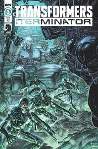 [Transformers Vs Terminator #3 (Williams II Variant) (Product Image)]