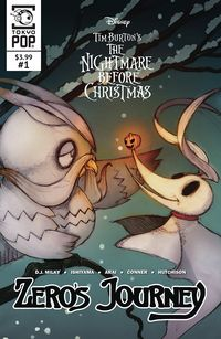 [The cover for The Nightmare Before Christmas: Zeros Journey #1 (Cover A)]