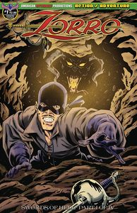 [Zorro: Swords Of Hell #1 (Limited Edition Gallant Signed Cover) (Product Image)]