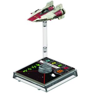 [Star Wars: X-Wing Miniatures: Expansion Pack: A-Wing (Product Image)]