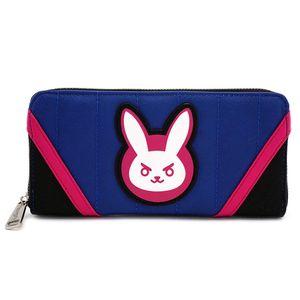 [Overwatch: Loungefly Zip Around Wallet: D.Va (Pink & Blue) (Product Image)]