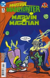 [Martian Manhunter/Marvin The Martian: Special #1 (Variant Edition) (Product Image)]