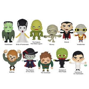 [Universal Monsters: 3D Foam Bag Clips (Product Image)]