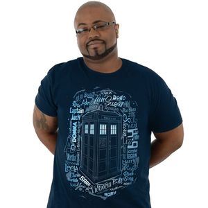 [Doctor Who: T-Shirt: Every Companion Ever (Product Image)]