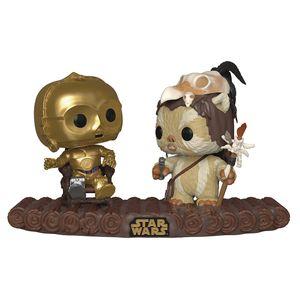 [Star Wars: Pop! Vinyl Movie Moments: C-3PO On Throne (Product Image)]