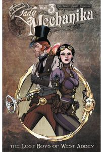 [Lady Mechanika: Volume 3: The Lost Boys Of West Abbey (Signed Mini Print Edition) (Product Image)]