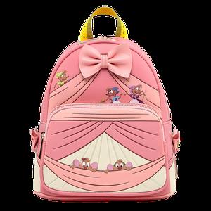[Loungefly: Mini Backpack: Disney: Cinderella 70th Anniversary Peek A Boo (Product Image)]