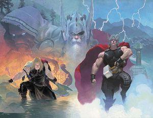 [Thor: Jason Aaron: Omnibus: Volume 1 (Ribic Variant Hardcover) (Product Image)]