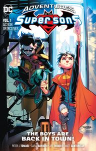 [Adventures Of The Super Sons: Volume 1: Action Detective (Product Image)]