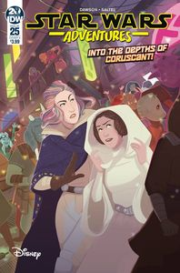 [Star Wars Adventures #25 (Cover A Saltel) (Product Image)]