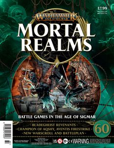 [Warhammer: Age Of Sigmar: Mortal Realms #60 (Product Image)]