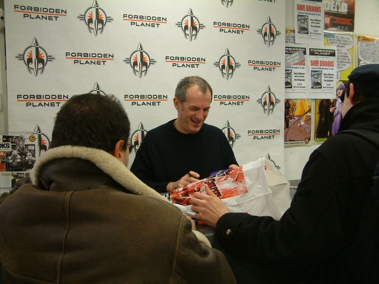 Dave Gibbons Signing