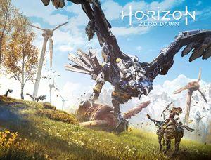 [Horizon Zero Dawn #1 (Cover B Game Art Wrap) (Product Image)]