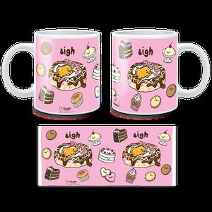[Gudetama: Mug: Sigh (Product Image)]