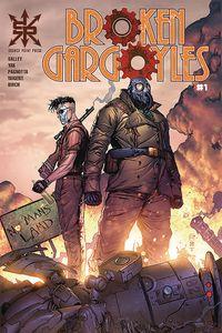 [The cover for Broken Gargoyles #1]