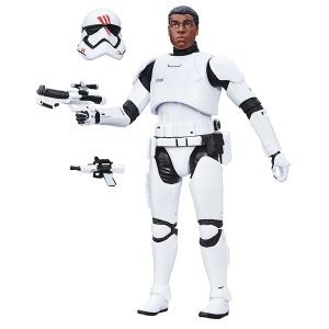 [Star Wars: The Force Awakens: Black Series: Wave 5 Action Figure: Finn Stormtrooper Armour (Product Image)]