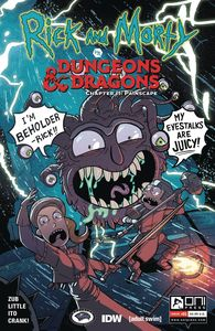 [Rick & Morty Vs D&D II: Painscape #1 (Cover B Zub) (Product Image)]