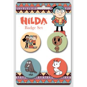 [Hilda: Badge Set: Hilda & Friends (Product Image)]