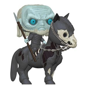 [Game Of Thrones: Pop! Vinyl Ride Figure: White Walker On Horse (Product Image)]