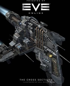 [The Frigates Of Eve Online: Cross Sections (Hardcover) (Product Image)]