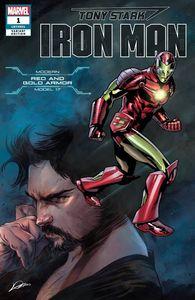 [Tony Stark: Iron Man #1 (Heroes Reborn Kurt Armor Variant) (Product Image)]