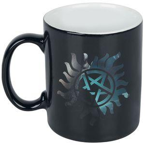 [Supernatural: Heat Change Mug: Sam & Dean Symbols (Product Image)]
