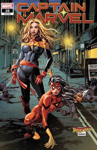 [Captain Marvel #16 (Panosian Spider-Woman Variant) (Product Image)]