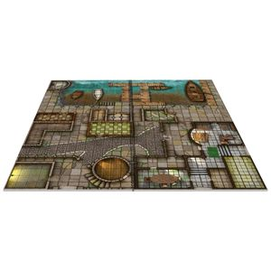 [Towns & Taverns: Little Book Of Battle Mats (Product Image)]