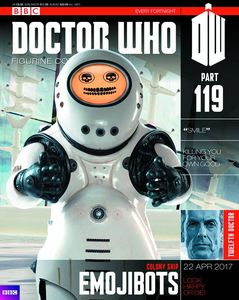 [Doctor Who: Figurine Collection Magazine #119: Emojibot (Product Image)]