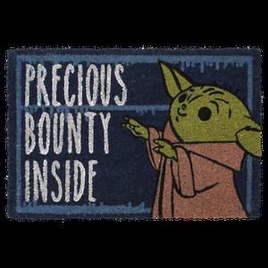 [Star Wars: The Mandalorian: Door Mat: Precious Bounty Inside (Product Image)]