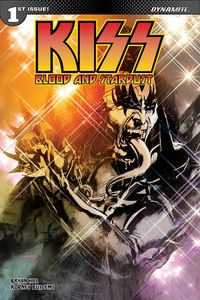[Kiss: Blood & Stardust #1 (Cover A Sayger Demon) (Product Image)]