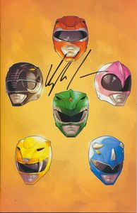 [Mighty Morphin Power Rangers #19 (Signed NYCC Green Ranger Variant) (Product Image)]