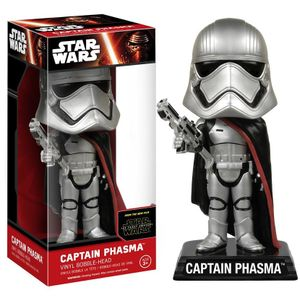 [Star Wars: The Force Awakens: Wacky Wobblers: Captain Phasma (Product Image)]