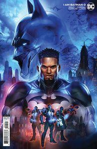 [I Am Batman #0 (Dave Wilkins Cardstock Variant) (Product Image)]