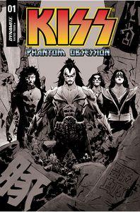 [Kiss: Phantom Obsession #1 (Cover I Lee Black & White Line Art Variant) (Product Image)]