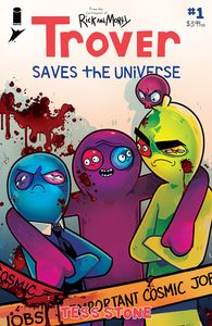 [Trover Saves The Universe #1 (Cover A Stone) (Product Image)]