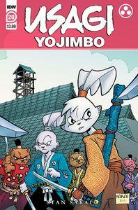 [Usagi Yojimbo #20 (Product Image)]