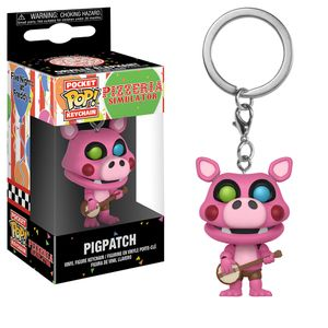 [Five Nights At Freddy's: Pocket Pop! Keychain: Pizza Sim Pigpatch (Product Image)]