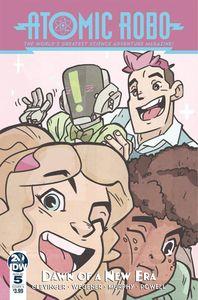 [Atomic Robo & Dawn Of New Era #5 (Cover A Wegener) (Product Image)]
