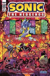 [Sonic The Hedgehog #25 (Gray & Graham Variant) (Product Image)]