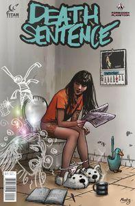 [Death Sentence #1 (Forbidden Planet Variant) (Product Image)]
