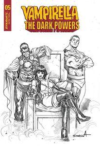 [Vampirella: Dark Powers #5 (Premium Davila Black & White Variant) (Product Image)]