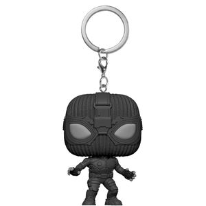 [Spider-Man: Far From Home: Pocket Pop! Keychain: Spider-Man (Stealth Suit) (Product Image)]