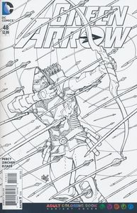 [Green Arrow #48 (Adult Coloring Book Variant Edition) (Product Image)]