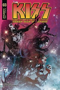 [Kiss: Blood & Stardust #3 (Cover A Sayger) (Product Image)]