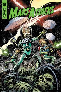 [Mars Attacks #1 (Cover A Mandrake) (Product Image)]