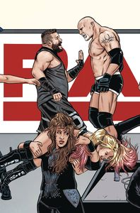 [WWE #22 (Schoonover Raw Connecting Variant) (Product Image)]
